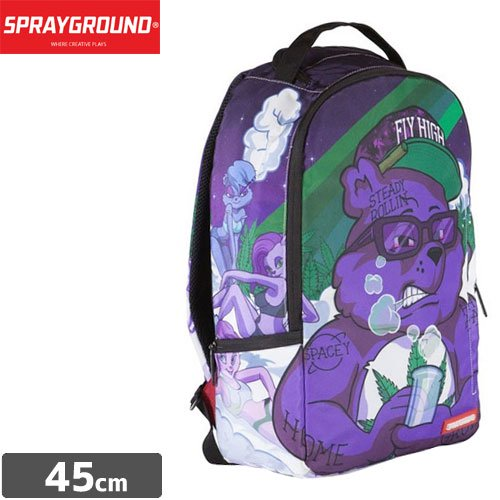 【SPRAYGROUND スプレーグラウンド バッグ】PURPLE HAZE BEAR THE MADZILLA COLLECTION BACKPACK B461 NO17