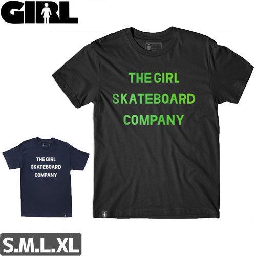 【ガール GIRL SKATEBOARDS Tシャツ】SANS TEE【2カラー】NO270