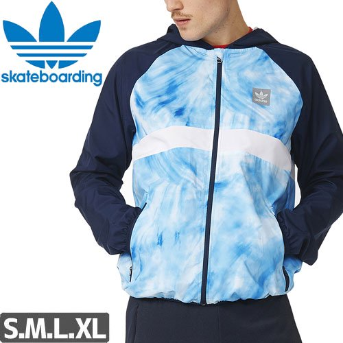 【アディダス ADIDAS SKATEBOARDING ジャケット】SKY DYE PACKABLE WINDBREAKER NO1