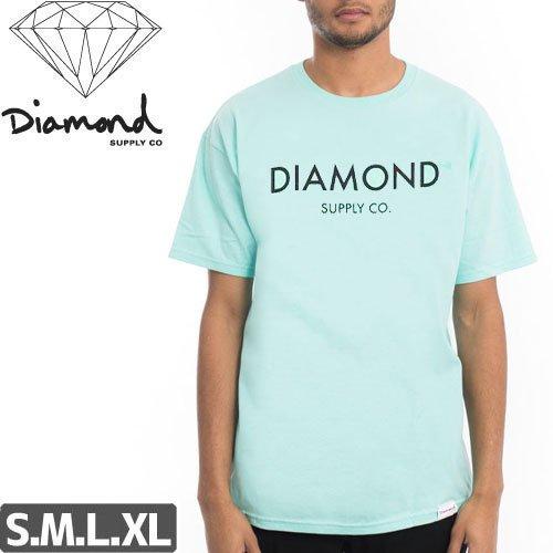 【DIAMOND SUPPLY ダイアモンド Tシャツ】DIAMOND CLASSIC TEE【ブルー】NO29