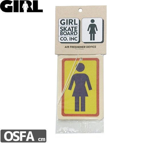 【GIRL ガールスケートボード SKATEBOARD】ASSORTED AIR FRESHENER NO4