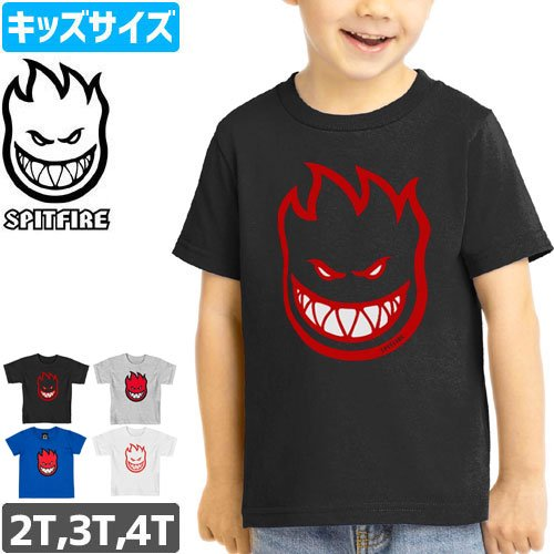 【SPITFIRE キッズ Tシャツ】BIGHEAD TODDLER TEE 幼児サイズ NO47