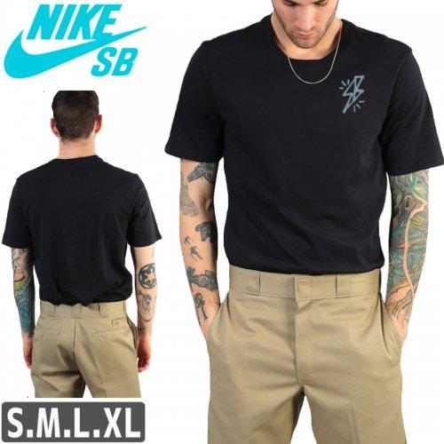 【NIKE SB ナイキ Tシャツ】DRI-FIT BOLT TEE【ブラック】NO44