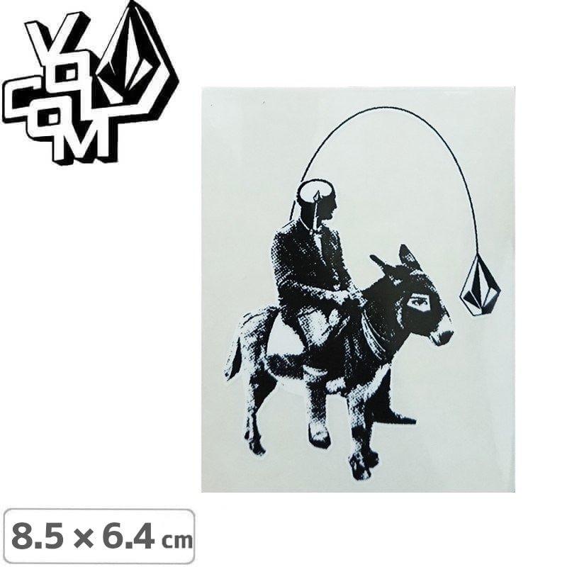 【ボルコム VOLCOM ステッカー】STICKER【8.5cm x 6.5cm】NO136