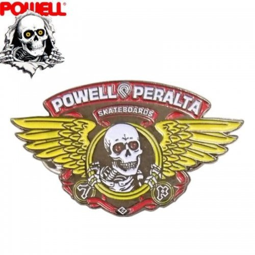 【パウエル POWELL スケボー ピンバッチ】PERALTA RIPPER LAPEL PIN【2.5cm x 4.5cm】NO2