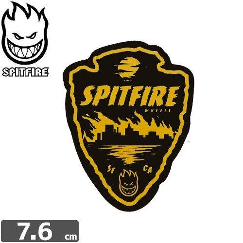 【スピットファイア SPITFIRE スケボー ステッカー】ARROWHEAD【7.6cm x 6.1cm】NO81