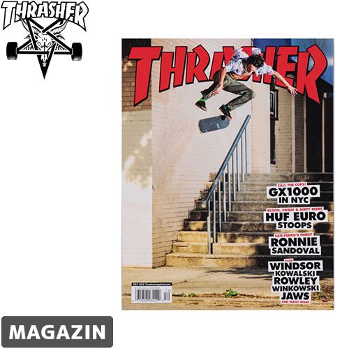 【THRASHER MAGAZIN スラッシャー マガジン】DECEMBER 2016 ISSUE【437号】NO3