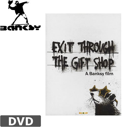 【BANKSY バンクシー DVD】EXIT THROUGH THE GIFT SHOP【北米版】NO1