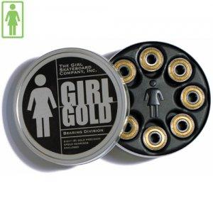 【GIRL ガールスケートボード ベアリング】GIRL  GOLD Bearings【ABEC7】NO02