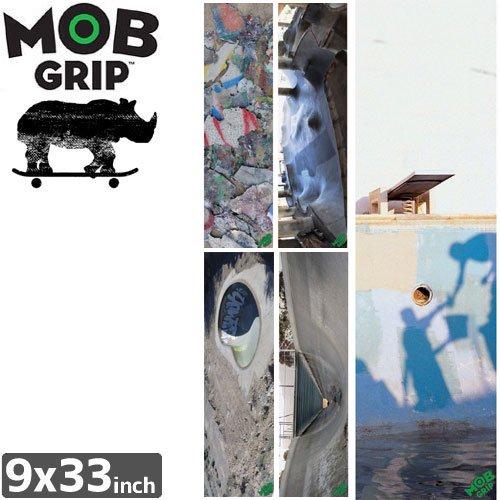 【モブグリップ MOB GRIP デッキテープ】RHINO SKATESCAPES SHEET【9 x 33】NO159