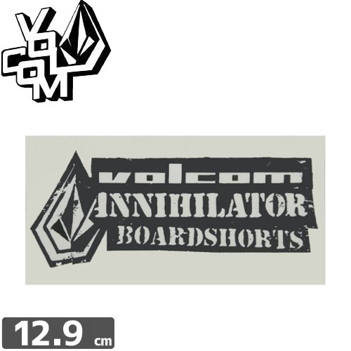 【ボルコム VOLCOM ステッカー】STICKER【6.4cm x 12.9cm】NO230