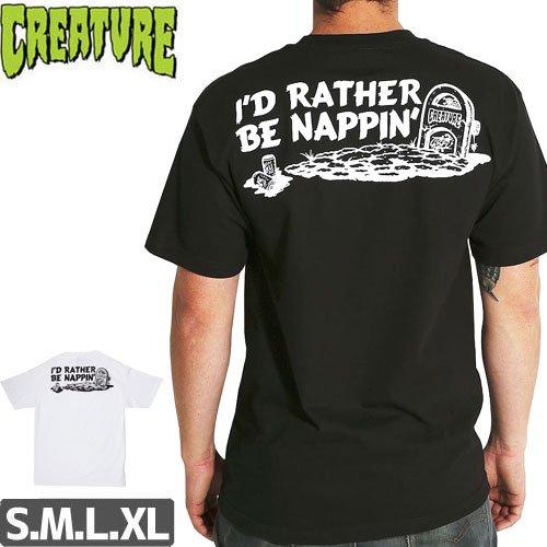 【CREATURE クリーチャー スケボー Tシャツ】NAPPIN POCKET TEE【2カラー】NO120