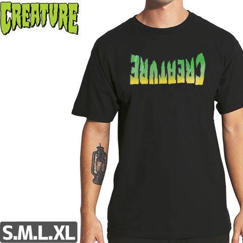 【CREATURE クリーチャー スケボー Tシャツ】ANDRECHT TEE【ブラック】NO121