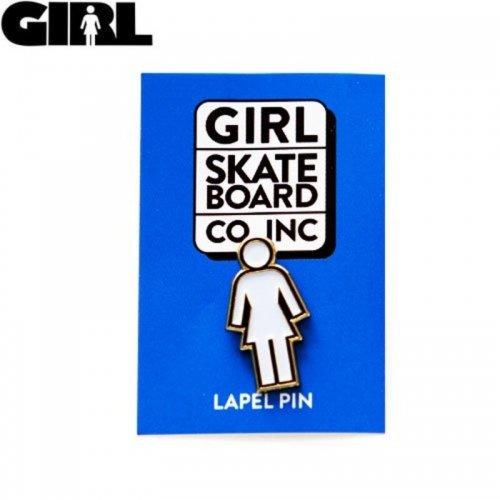【GIRL ガールスケートボード ピンバッチ】OG LOGO ENAMEL PIN【3.1cm x 1.7cm】NO04