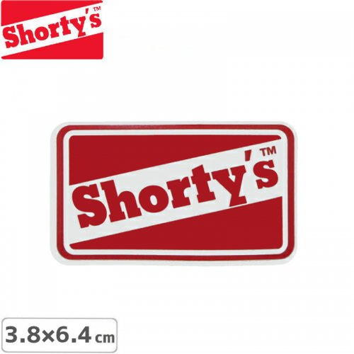【ショーティーズ SHORTYS ステッカー】LOGO STICKER【3.8cm x 6.4cm】NO15