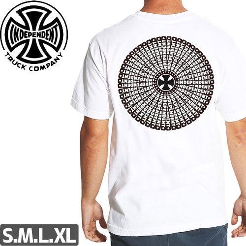 【インディペンデント INDEPENDENT Tシャツ】360 BAR REGULAR S/S TEE【ホワイト】NO142