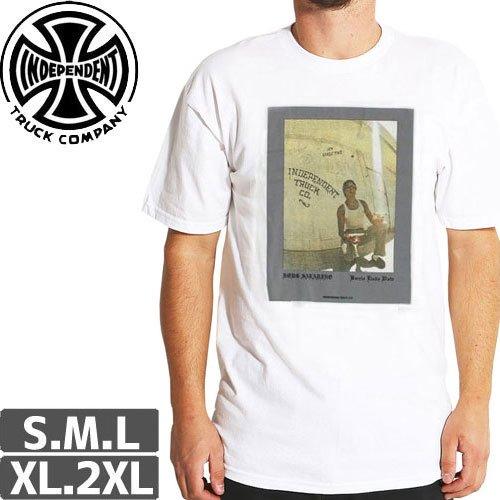 【インディペンデント INDEPENDENT Tシャツ】PINEAPPLE AD TEE【ホワイト】NO143