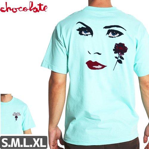 【チョコレート CHOCOLATE Tシャツ】DREAMERS TEE【セラドンブルー】NO154