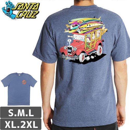 【サンタクルズ SANTA CRUZ スケボー Tシャツ】CLASSIC WOODY TEE NO102
