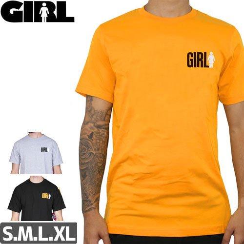 【ガール GIRL SKATEBOARDS Tシャツ】BIG GIRL DUO TEE【3カラー】NO274