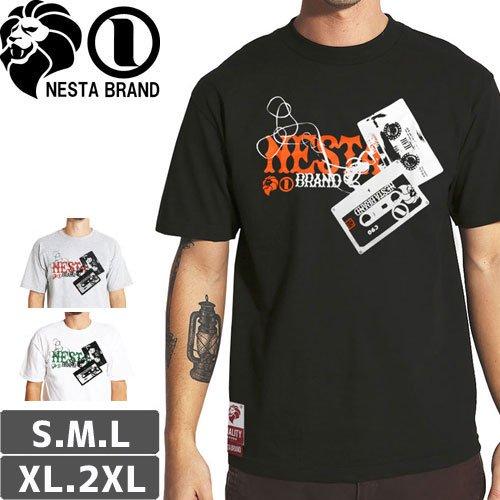 【ネスタ NESTA BRAND スケボー Tシャツ】OLD SCHOOL TEE【3カラー】NO22