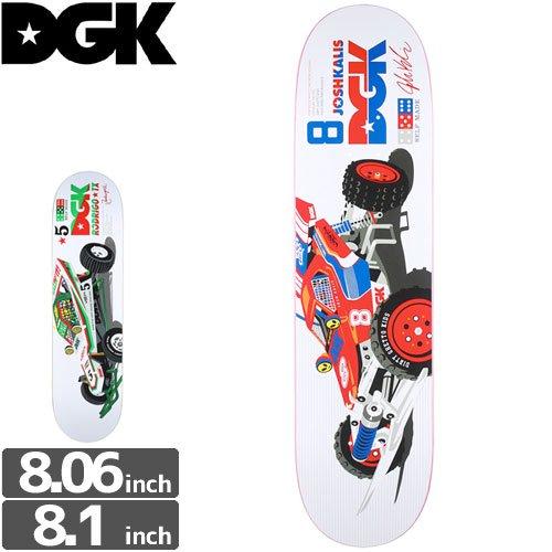 【ディージーケー DGK スケボー デッキ】HOPPER DECK[8.06インチ][8.1インチ]ミニ四駆パロ NO284