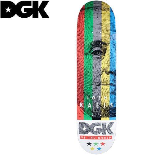 【ディージーケー DGK スケボー デッキ】KALIS VS THE WORLD DECK[8.06インチ]NO285