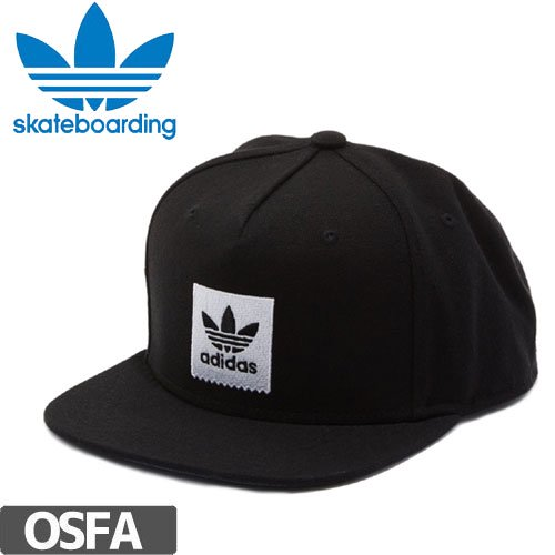 【アディダス ADIDAS SKATEBOARDING キャップ】ORIGINAL AS BLACKBIRD SNAPBACK【ブラック】NO3