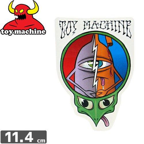 【トイマシーン TOY MACHINE スケボー ステッカー】GRATEFUL DEAD【11.4cm x 7.9cm】NO36