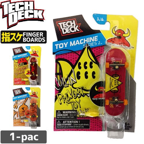 【TECH DECK テックデッキ 指スケ トイマシーン】TOY MACHINE【96mm】NO27
