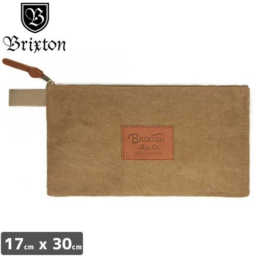 【BRIXTON ブリクストン ポーチバック】COFFER II TOOL BAG【カーキ】NO01