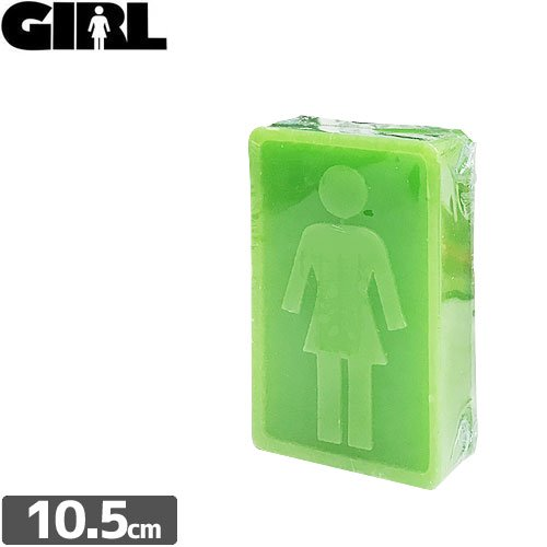 【ガール GIRL スケボー ワックス】GIRL SKATE BAR WAX【10.5 x 6.5cm】NO6