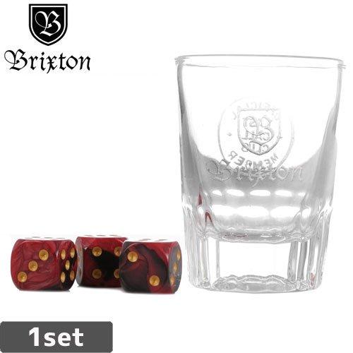 【BRIXTON ブリクストン】GOOD TIMES SHOT GLASS DICE SET【グラス・サイコロ】NO03