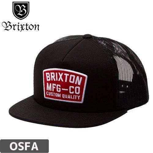 【BRIXTON ブリクストンキャップ】NATIONAL MESH CAP【ブラック】NO28