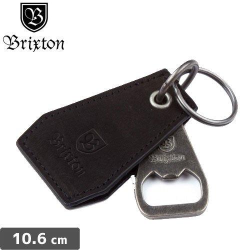 【BRIXTON ブリクストンキーホルダー】CLIPPER BOTTLE OPENER【ブラック】 NO09