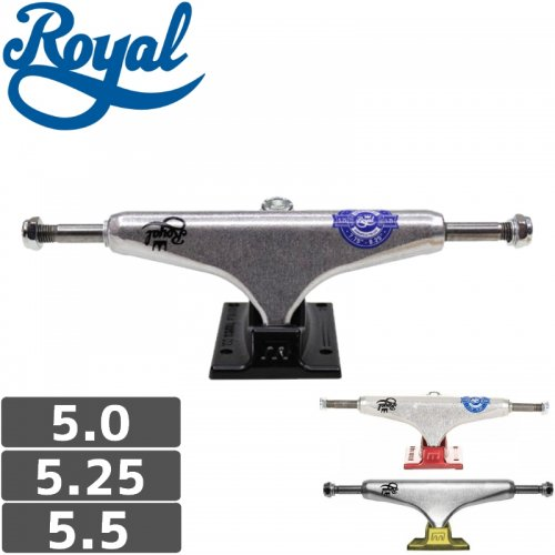 【ROYAL ロイヤル スケボー トラック】MINI CROWN TRUCK【5.0】【5.25】【5.5】NO51