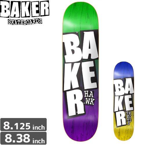 【ベーカー BAKER スケボー デッキ】STACKED NAME DECK[8.3インチ]NO146