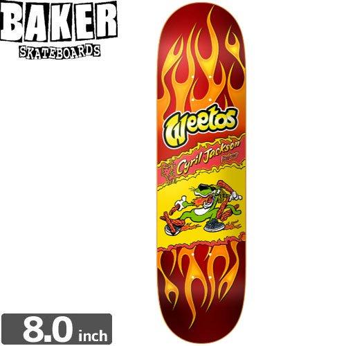 【ベーカー BAKER スケボー デッキ】BOARD BAKER CJ HOT WEETOS[8.0インチ]NO148