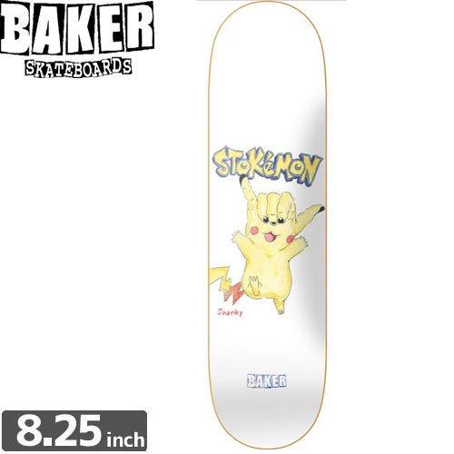【ベーカー BAKER スケボー デッキ】BOARD BAKER KL STOKEMON[8.2インチ]NO149