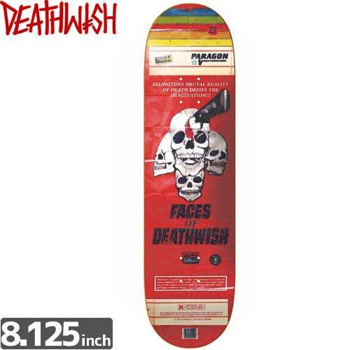 【デスウィッシュ DEATH WISH スケボー デッキ】ELLINGTON VHS WASTELAND [8.1インチ]NO45