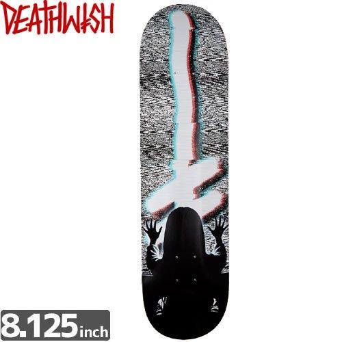 【デスウィッシュ DEATH WISH スケボー デッキ】ORIGINAL G LOGO DISTORT [8.1インチ]NO47