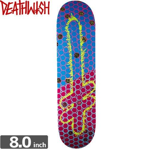 【デスウィッシュ DEATH WISH スケボー デッキ】ORIGINAL G LOGO OCR [8.0インチ]NO50