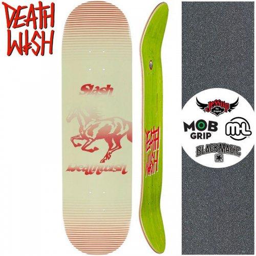 【デスウィッシュ DEATH WISH スケボー デッキ】SL MUSTANG [8.3インチ] NO56