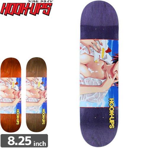 【フックアップス HOOK UPS スケートボード デッキ】STRAWBERRY SHORTCAKE DECK[8.25インチ]NO68