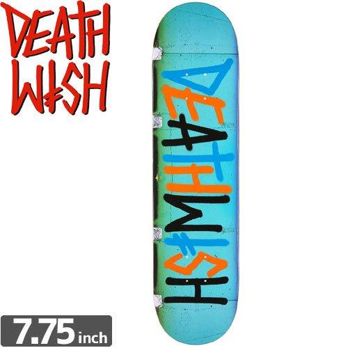【デスウィッシュ DEATH WISH スケボー デッキ】DEATHSPRAY MULTI STRIP [7.7インチ]NO43