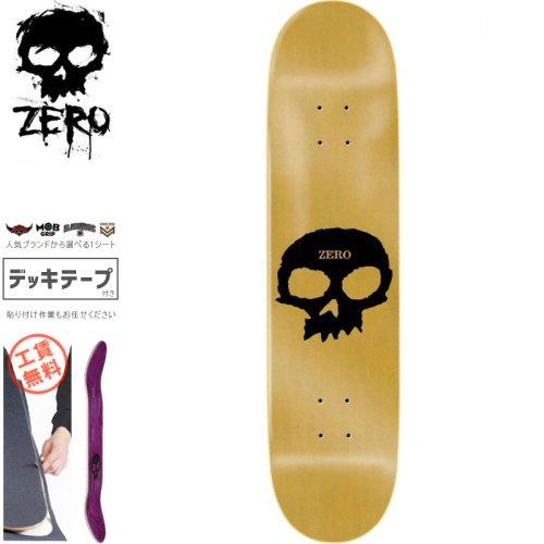 【ゼロ ZERO スケボー デッキ】SINGLE SKULL FOIL R7 [8.125インチ]NO83