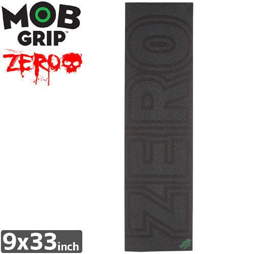 【モブグリップ MOB GRIP デッキテープ】BOLD BLACK SINGLE SHEET【ZERO】【9 x 33】NO170