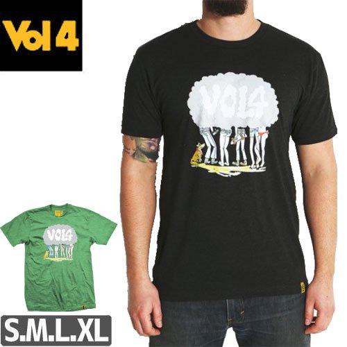 【ボリュームフォー VOL4 スケボー Tシャツ】PUFF PAL NEGRA [2カラー] NO01