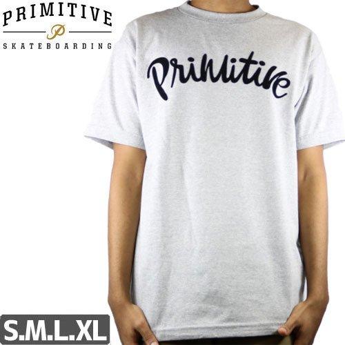 【PRIMITIVE プリミティブ Tシャツ】DUSTY TEE [グレー]NO3