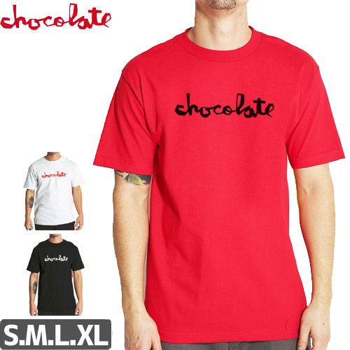 【チョコレート CHOCOLATE Tシャツ】ORIGINAL CHUNK TEE NO155